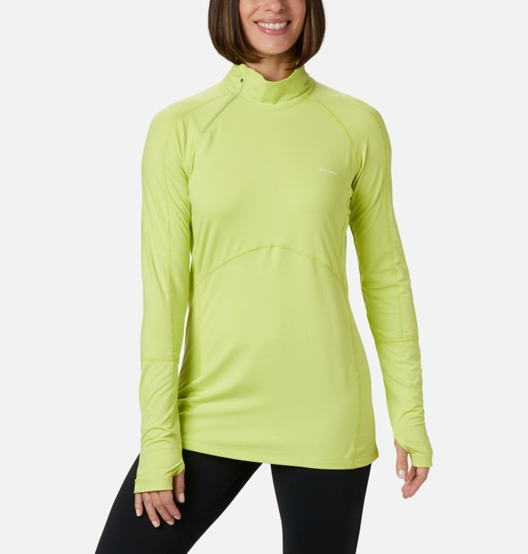 Women's Winter Power Quarter Zip Knit Shirt Women's Winter Power Quarter Zip Knit Shirt, front