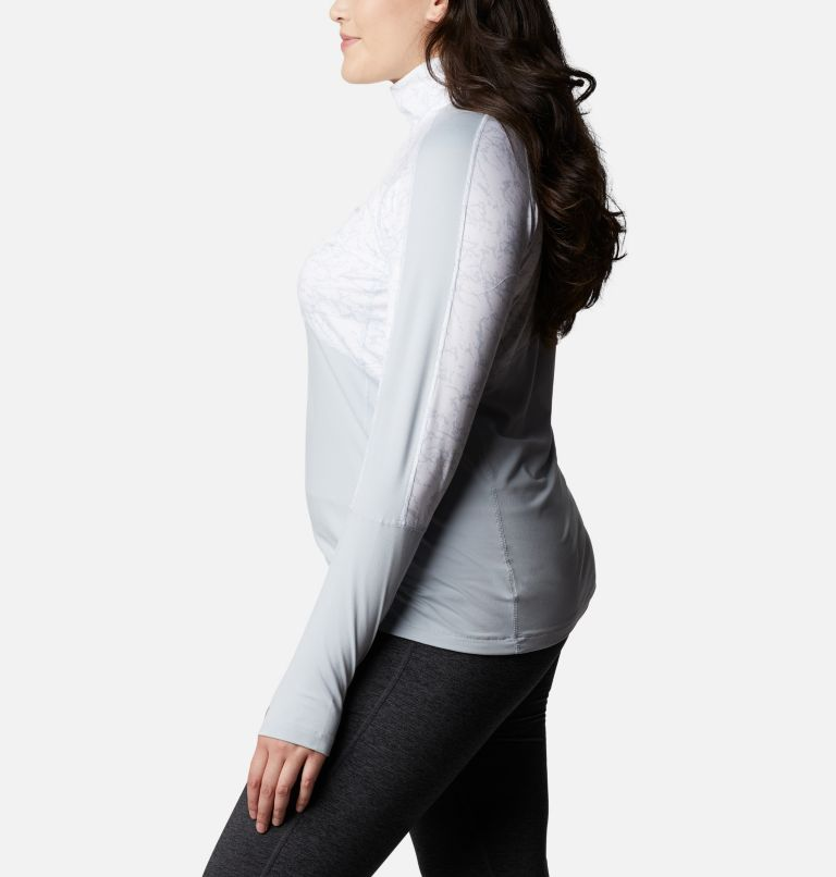 Women's Winter Power™ Quarter Zip Knit Shirt - Plus Size Women's Winter Power™ Quarter Zip Knit Shirt - Plus Size, a1