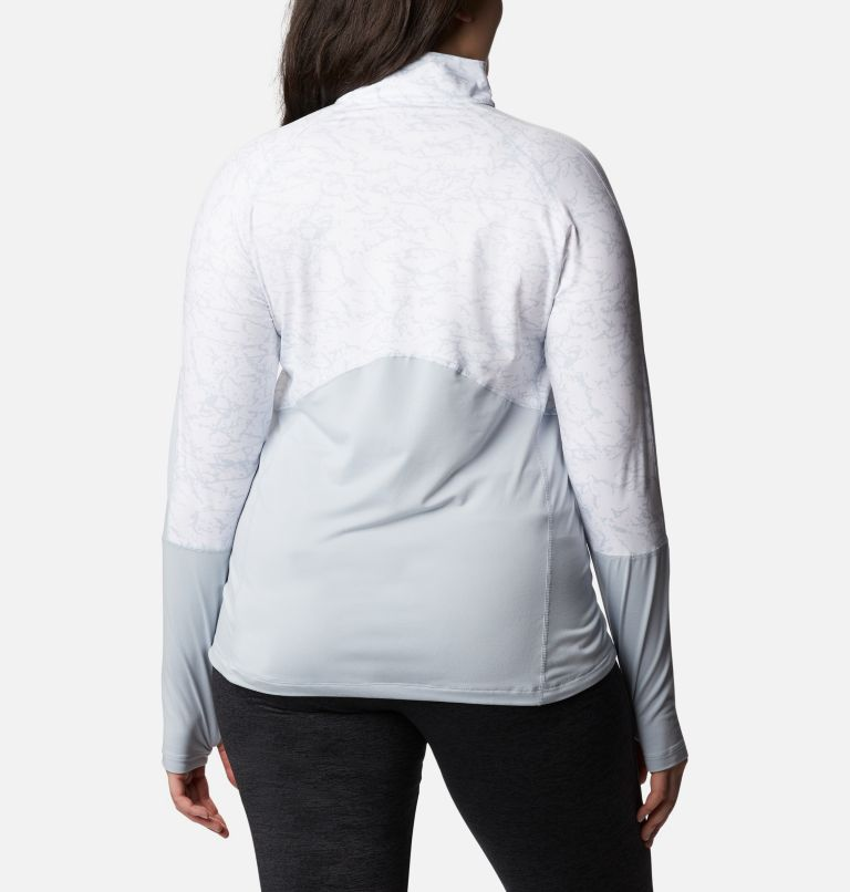 Women's Winter Power™ Quarter Zip Knit Shirt - Plus Size Women's Winter Power™ Quarter Zip Knit Shirt - Plus Size, back
