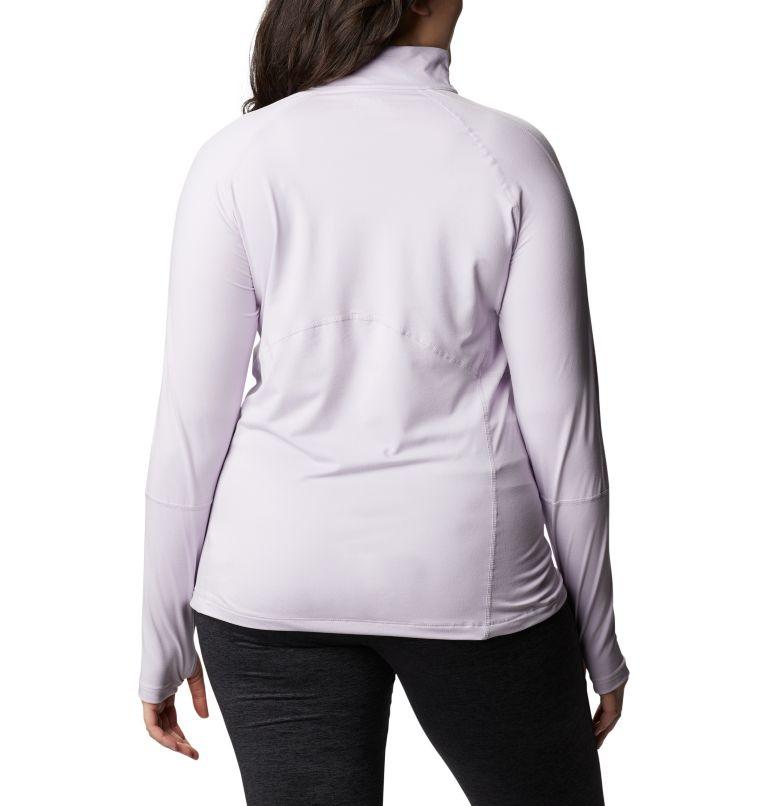 Women's Winter Power™ Quarter Zip Knit Shirt - Plus Size Women's Winter Power™ Quarter Zip Knit Shirt - Plus Size, back