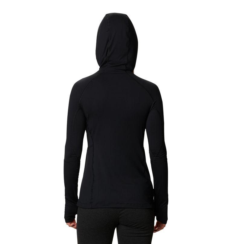 Winter Power™ Hooded Knit | 010 | M Women's Winter Power™ Hooded Knit Shirt, Black, back