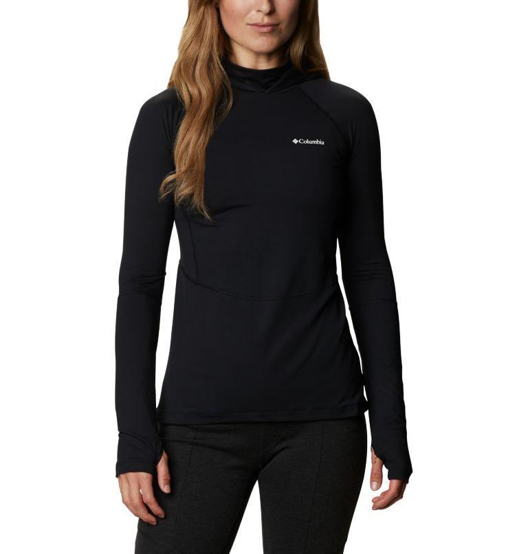 Winter Power™ Hooded Knit | 010 | M Women's Winter Power™ Hooded Knit Shirt, Black, front