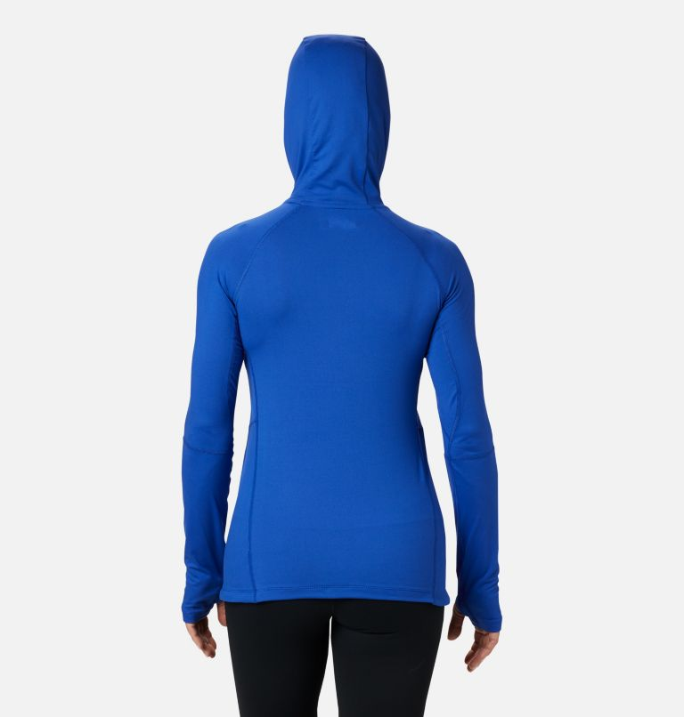 Winter Power™ Hooded Knit | 410 | S Women's Winter Power™ Hooded Knit Shirt, Lapis Blue, back