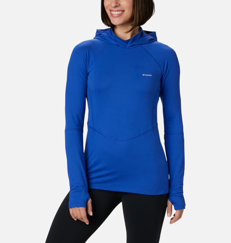 Winter Power™ Hooded Knit | 410 | S Women's Winter Power™ Hooded Knit Shirt, Lapis Blue, front