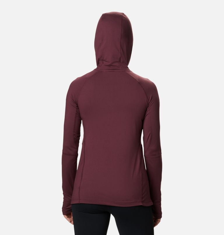 Women's Winter Power™ Hooded Knit Shirt Women's Winter Power™ Hooded Knit Shirt, back
