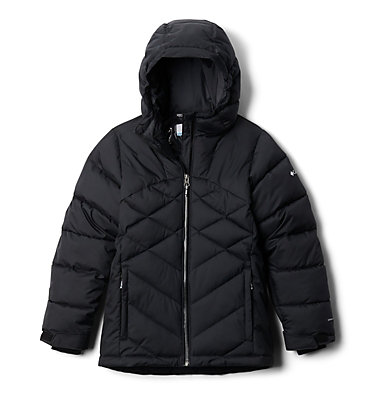 Girls' Winter Powder™ Quilted Jacket Winter Powder™ Quilted Jacket | 618 | L, Black, front