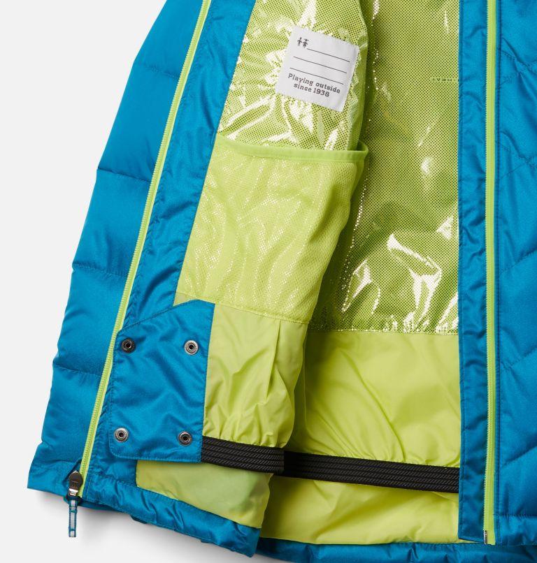 Winter Powder™ Quilted Jacket | 462 | M Girls' Winter Powder Quilted Ski Jacket, Fjord Blue, Fjord Blue Sheen, a1