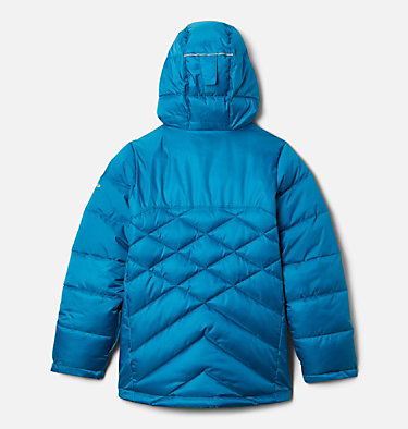 Girls' Winter Powder™ Quilted Jacket Winter Powder™ Quilted Jacket | 618 | L, Fjord Blue, Fjord Blue Sheen, back
