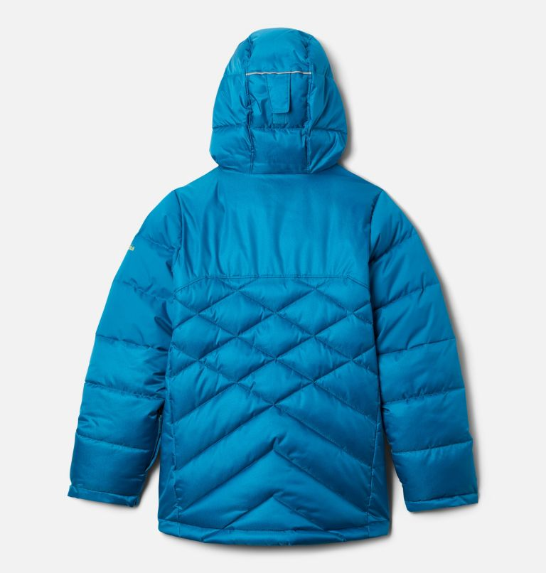 Winter Powder™ Quilted Jacket | 462 | L Girls' Winter Powder Quilted Ski Jacket, Fjord Blue, Fjord Blue Sheen, back