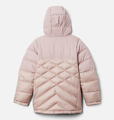 Girls' Winter Powder™ Quilted Jacket Winter Powder™ Quilted Jacket | 618 | L, Mineral Pink, Mineral Pink Sheen, back