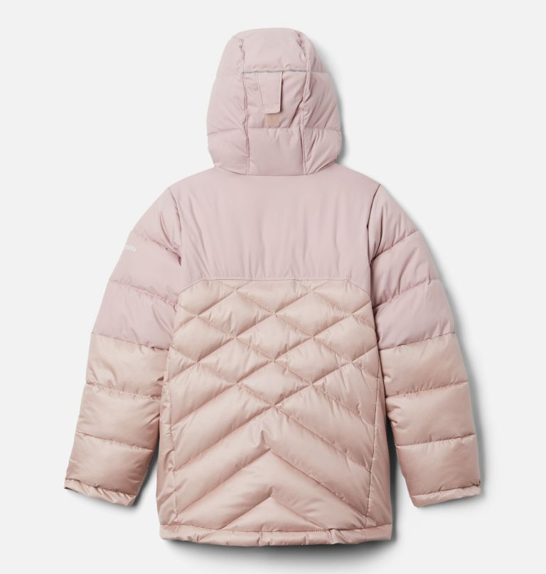 Winter Powder™ Quilted Jacket | 618 | M Girls' Winter Powder™ Quilted Jacket, Mineral Pink, Mineral Pink Sheen, back