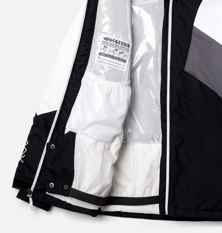 Alpine Diva™ Jacket | 010 | XXS Youth Alpine Diva™ Ski Jacket, Black, White, City Grey, a1