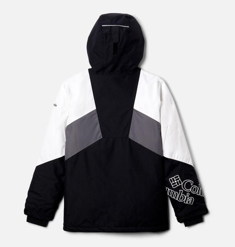 Alpine Diva™ Jacket | 010 | XXS Youth Alpine Diva™ Ski Jacket, Black, White, City Grey, back