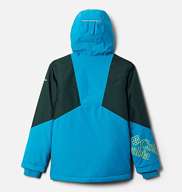 Girl's Alpine Diva™ Jacket Alpine Diva™ Jacket | 462 | M, Fjord Blue, Spruce, back