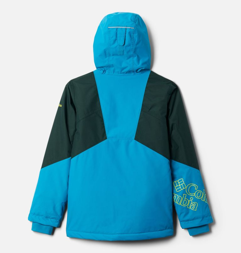 Alpine Diva™ Jacket | 462 | XL Youth Alpine Diva™ Ski Jacket, Fjord Blue, Spruce, back