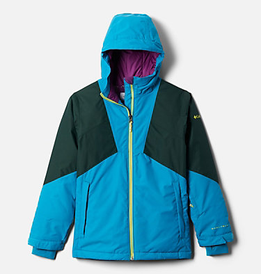 Girl's Alpine Diva™ Jacket Alpine Diva™ Jacket | 462 | M, Fjord Blue, Spruce, front