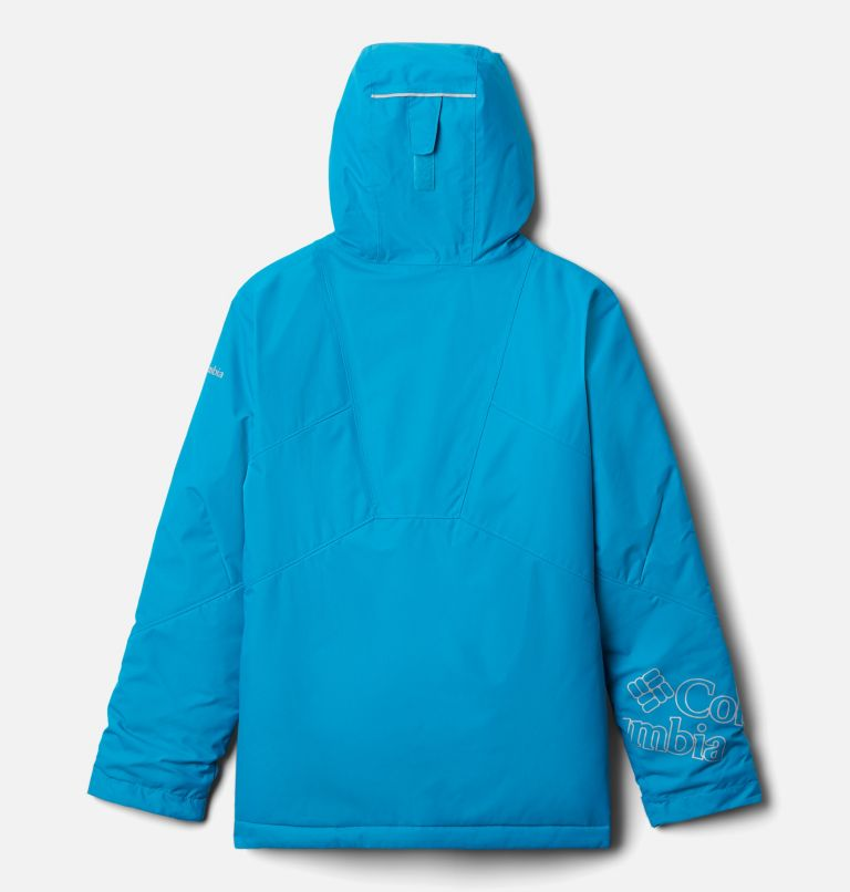 Alpine Diva™ Jacket | 463 | XS Youth Alpine Diva™ Ski Jacket, Fjord Blue, back