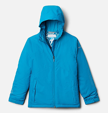 Girl's Alpine Diva™ Jacket Alpine Diva™ Jacket | 462 | M, Fjord Blue, front