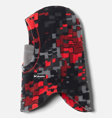 Kids' Frosty Trail™ Balaclava Frosty Trail™ Youth Balaclava | 613 | L/XL, Mountain Red Weave, front