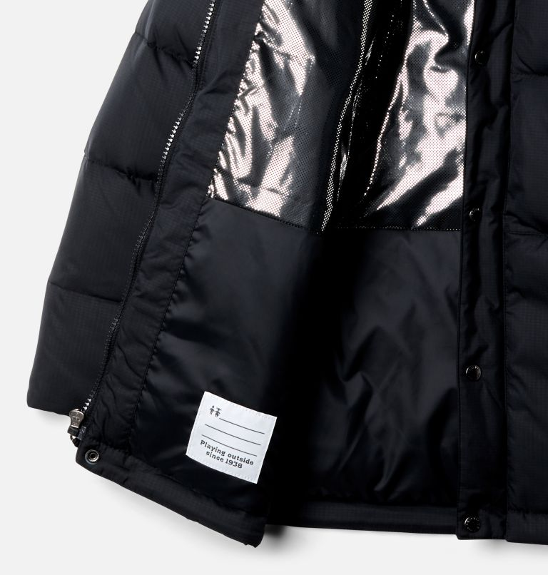 Forest Park™ Down Hooded Puffer | 010 | XXS Boys' Forest Park™ Down Hooded Puffy Jacket, Black, a1