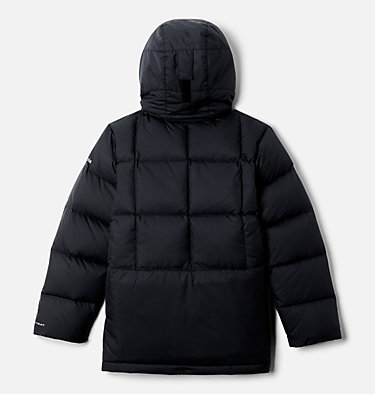 Boys' Forest Park™ Down Hooded Puffy Jacket Forest Park™ Down Hooded Puffer | 327 | M, Black, back
