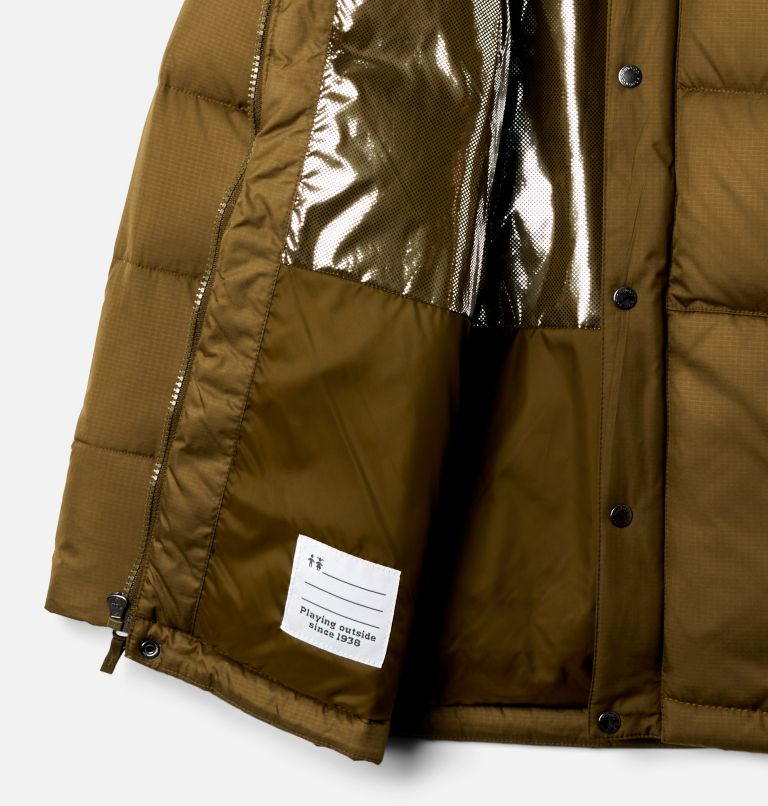 Forest Park™ Down Hooded Puffer | 327 | XXS Boys' Forest Park™ Down Hooded Puffy Jacket, New Olive Ripstop, a1