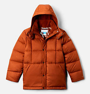 Boys' Forest Park™ Down Hooded Puffy Jacket