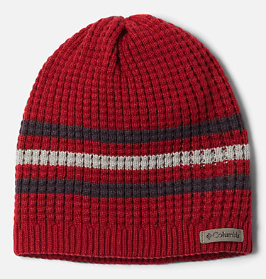 Kids' Fawn Hike Beanie Fawn Hike™ Youth Beanie | 613 | O/S, Mountain Red, Dark Purple, front