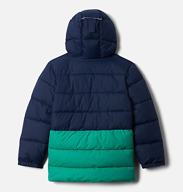 Boys' Arctic Blast™ Jacket Arctic Blast™ Jacket | 613 | XL, Collegiate Navy, Emerald Green, back