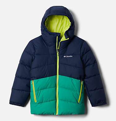 Boys' Arctic Blast™ Jacket Arctic Blast™ Jacket | 613 | XL, Collegiate Navy, Emerald Green, front