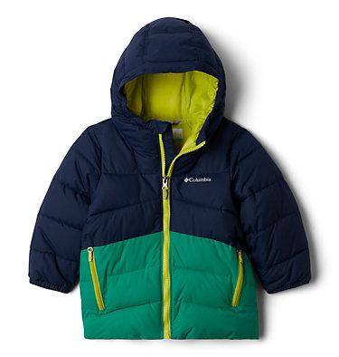 Boys' Toddler Arctic Blast™ Jacket Arctic Blast™ Jacket | 613 | 4T, Collegiate Navy, Emerald Green, front
