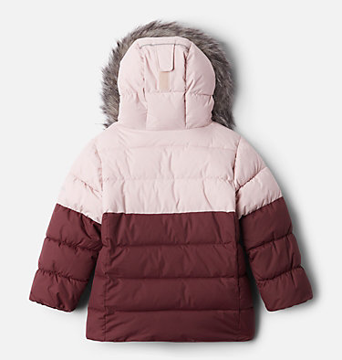 Girls' Toddler Arctic Blast™ Jacket Arctic Blast™ Jacket | 618 | 4T, Mineral Pink, Marsala Red, Malbec, back