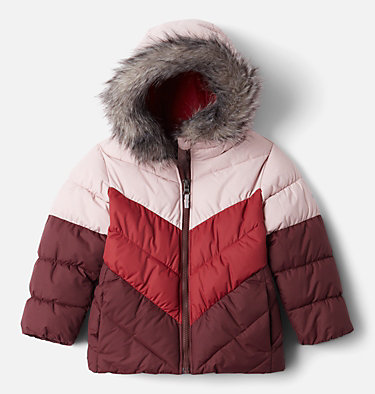 Girls' Toddler Arctic Blast™ Jacket Arctic Blast™ Jacket | 618 | 4T, Mineral Pink, Marsala Red, Malbec, front
