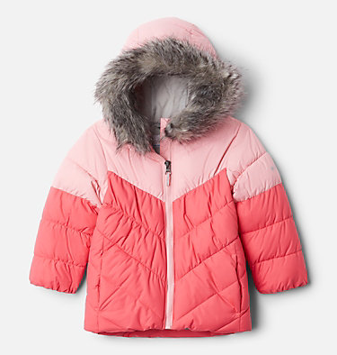 Girls' Toddler Arctic Blast™ Jacket Arctic Blast™ Jacket | 618 | 4T, Bright Geranium, Pink Orchid, front