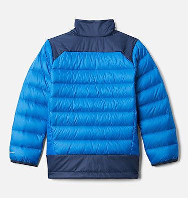 Boys' Autumn Park™ Down Jacket Autumn Park™ Down Jacket | 847 | XXS, Bright Indigo, Collegiate Navy, back