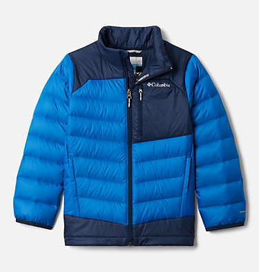 Boys' Autumn Park™ Down Jacket Autumn Park™ Down Jacket | 847 | XXS, Bright Indigo, Collegiate Navy, front