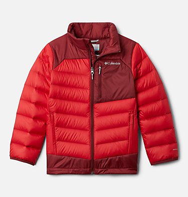 Boys' Autumn Park™ Down Jacket Autumn Park™ Down Jacket | 847 | XXS, Mountain Red, Red Jasper, front