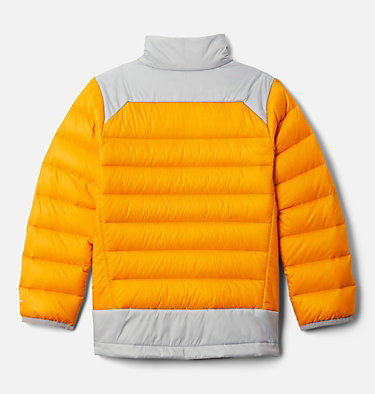 Boys' Autumn Park™ Down Jacket Autumn Park™ Down Jacket | 847 | XXS, Flame Orange, Columbia Grey, back