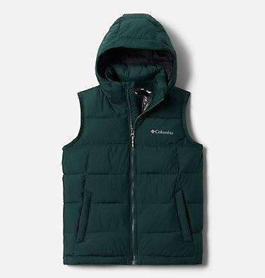 Kids' Pike Lake™ Hooded Vest Pike Lake™ Hooded Vest | 370 | M, Spruce, Black, front