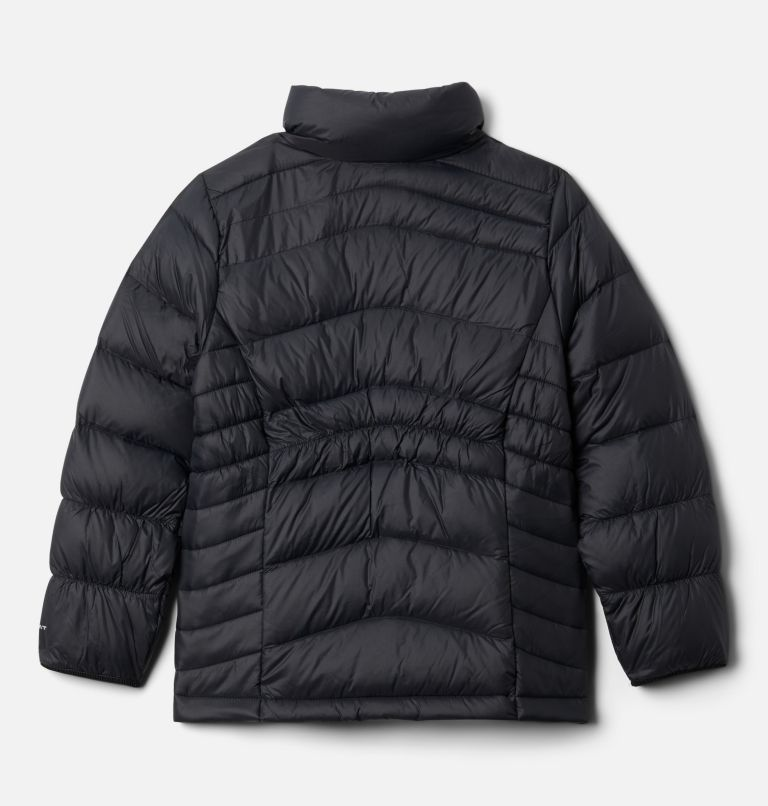 Autumn Park™ Down Jacket | 010 | XS Girls' Autumn Park™ Down Jacket, Black, back