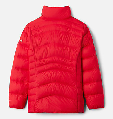Girls' Autumn Park™ Down Jacket Autumn Park™ Down Jacket | 689 | M, Red Lily, back
