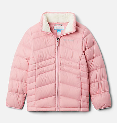 Girls' Autumn Park™ Down Jacket Autumn Park™ Down Jacket | 689 | M, Pink Orchid, front