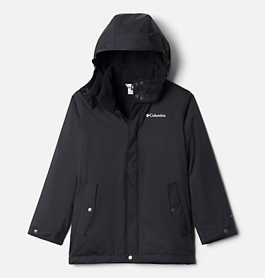 Boys' Burkes Bay™ Warm Lined Jacket Burkes Bay™ Warm Lined Jacket | 885 | XS, Black, front