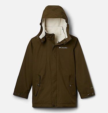 Manteau doublé chaud Burkes Bay™ pour garçon Burkes Bay™ Warm Lined Jacket | 885 | XS, New Olive, front