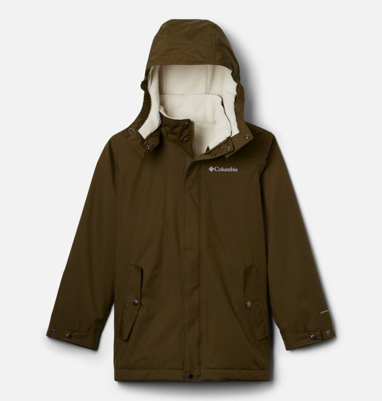 Burkes Bay™ Warm Lined Jacket | 327 | L Boys' Burkes Bay™ Warm Lined Jacket, New Olive, front