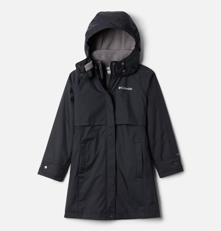 Burkes Bay™ Warm Lined Jacket | 010 | XS Girls' Burkes Bay™ Warm Lined Jacket, Black, front