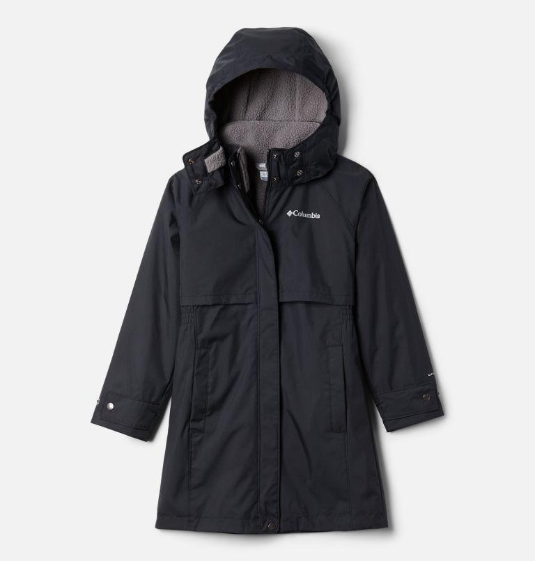 Burkes Bay™ Warm Lined Jacket | 010 | XL Girls' Burkes Bay™ Warm Lined Jacket, Black, front