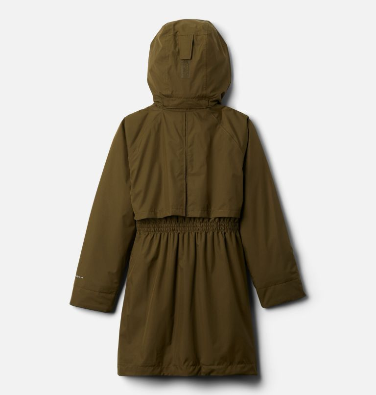 Burkes Bay™ Warm Lined Jacket | 327 | M Girls' Burkes Bay™ Warm Lined Jacket, New Olive, back