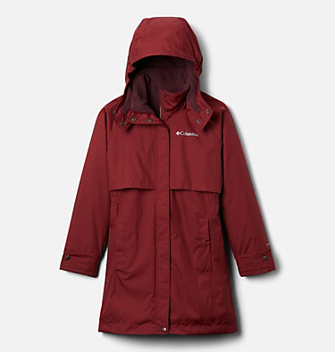 Manteau doublé chaud Burkes Bay™ pour fille Burkes Bay™ Warm Lined Jacket | 010 | XS, Marsala Red, front