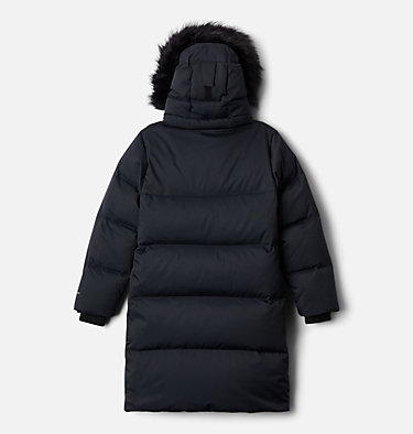 Manteau mi-long en duvet Rockfall™ pour enfant Rockfall™ Mid Down Jacket | 010 | XXS, Black, back